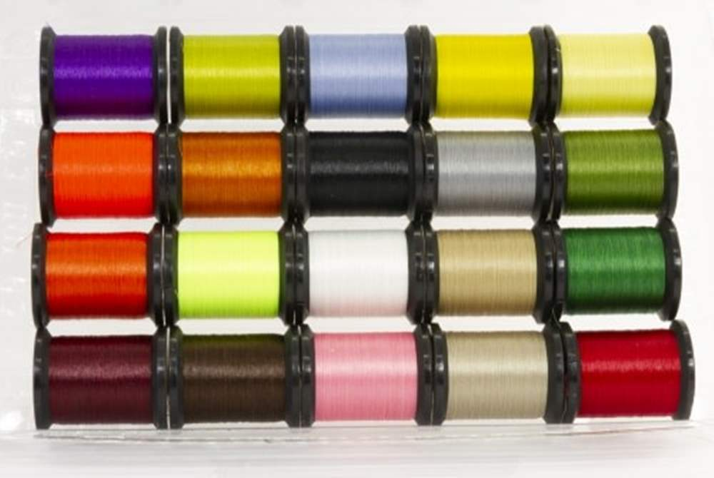 Uni - Pre Waxed Thread - 6/0 - 50 Yards - Mixed Pack (20 colours)