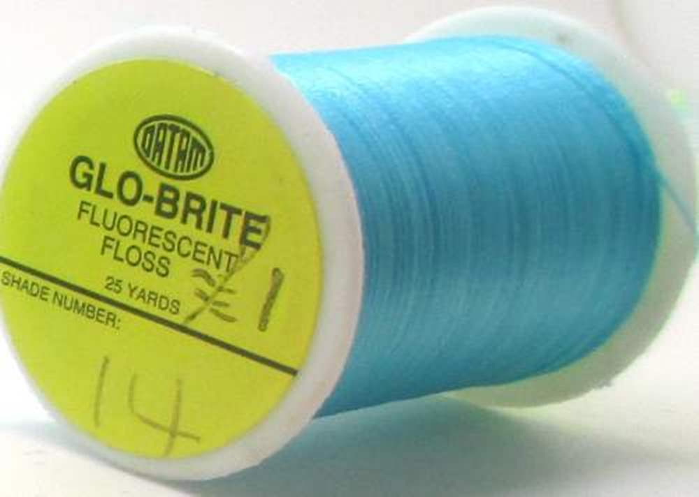 Glo-Brite Floss 100 Yards #14 Blue