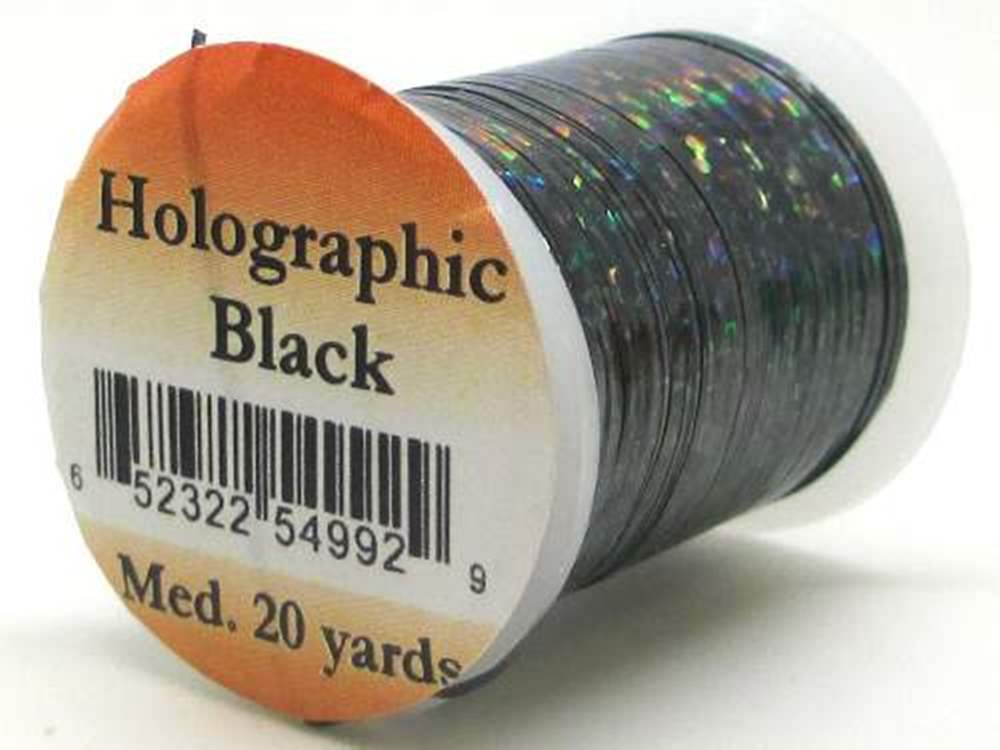 Holographic Tinsel Small #2 Black